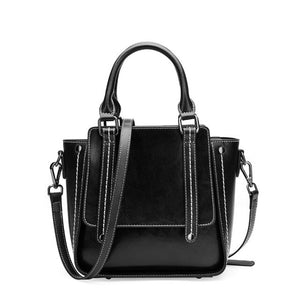 Fashion Women's Handbags Black Famous Luxury Designer Leather Woman Tote Shoulder Bags Summer Female Postman Crossbody Bag 2019 - LiveTrendsX