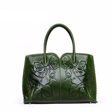 Load image into Gallery viewer, Genuine Leather women bags for women 2019 new luxury embossed handbag brand bag handbag women's designer bag - LiveTrendsX