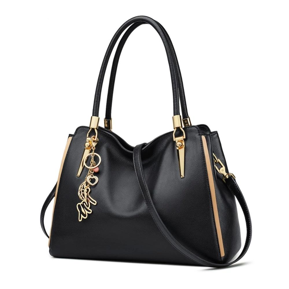 Women Genuine Leather Handbag & Crossbody Bag Women's Bags Valentine's Day Present Lady Casual Totes Fashion Purse - LiveTrendsX