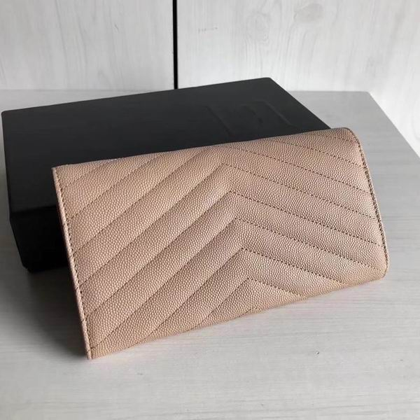 Women envelope long wallet purse Clutch High quality Bag Luxury Handbag real Leather Designer caviar leather Famous Ladies Bags - LiveTrendsX