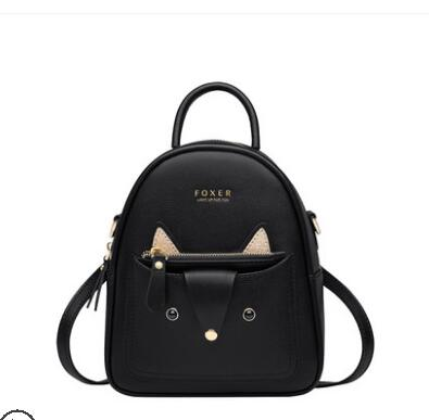 Women leather backpack fashion designer bags famous brand women bags 2019 new cowhide backpack Leisure school bag - LiveTrendsX