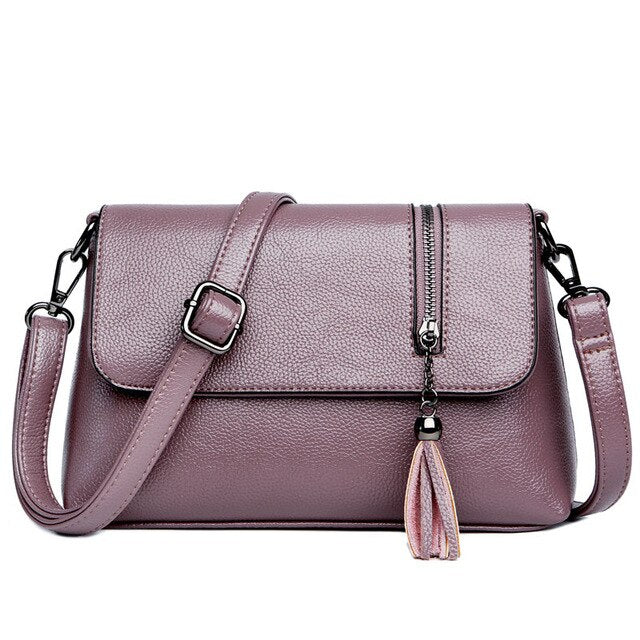 New Fashion Four Colors Women Handbags High Quality Ladies Shoulder Bags  Female Luxury Brand Design Crossbody Bag - LiveTrendsX