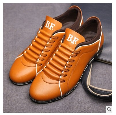 hot! new style autumn New England men's trend of men's shoes casual shoes leather shoes breathable four male size 45-48 - LiveTrendsX