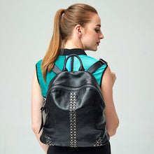 Load image into Gallery viewer, Women backpack mochila feminina genuine leather Backpacks For Teenage Girls Bagpack Drawstring Bag Holographic Backpack - LiveTrendsX