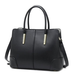 New Leather Shoulder Bag Fashion Hand-held Slant Bag Women's Bag - LiveTrendsX