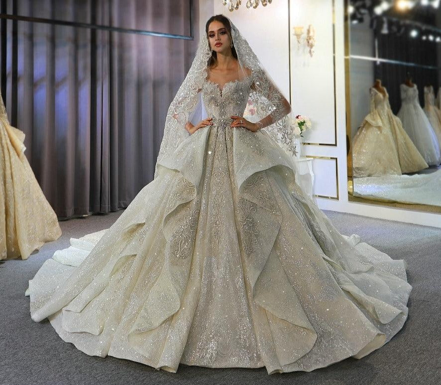 Bridal Gown  Lebanon weddings luxury bridal dress 2020 - LiveTrendsX