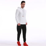 Men Autumn Hoodies Hooded Sweatshirts Pullovers Male Casual Fashion Slim Fitted Large Size Hoodies Hombre Outwear - LiveTrendsX