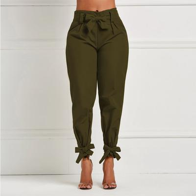 Ladies'casual Trousers Solid Color Waist-closing SlacksPants Fashionable Pants Plus Size - LiveTrendsX