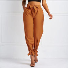 Load image into Gallery viewer, Ladies'casual Trousers Solid Color Waist-closing SlacksPants Fashionable Pants Plus Size - LiveTrendsX