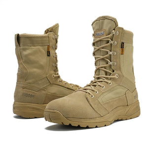 Outdoor Military Tactical Boots Men's Breathable Desert Combat Ankle Boots Autumn Military Shoes Three Colors