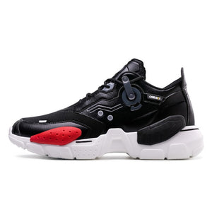 Unisex Sneakers Big Size 2020 New Technology Style Leather Damping Comfortable Men Sports Running Shoes Tennis Dad Shoes