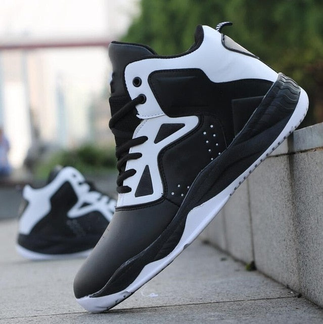 Men Professional High-top Basketball Shoes Men's Cushioning Light Basketball Sneakers Anti-skid Breathable Outdoor Sports Shoes