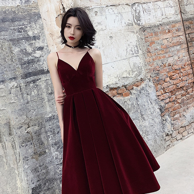 Summer Backless Dress For Women V Neck Spaghetti Strap Sleeveless High Waist Sexy Party Dresses Female 2020 Fashion