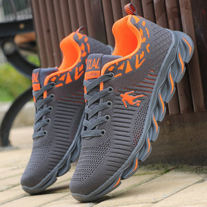 Men's Running Shoes Air Mesh Sneakers Outdoor Sport Shoes Comfortable Breathable Black Sneakers chaussure homme - LiveTrendsX