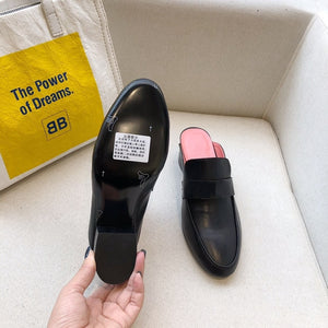 Women's Shoes Genuine Leather Flats Shoes For Woman Slip On Casual Shoes Top Quality Ins Fashion Shoes 34-41 - LiveTrendsX