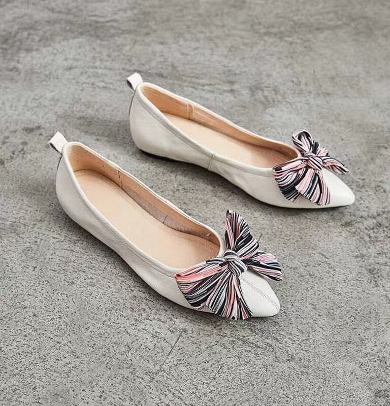 New good quality Women Shoes Spring Summer Soft Insole Ladies Flat Shoes Causal leather women shoes - LiveTrendsX