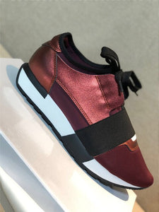Women's Shoes Luxury Sneakers Casual Shoes Women High Quality Genuine Leather Fashion lace-up Shoes For Woman