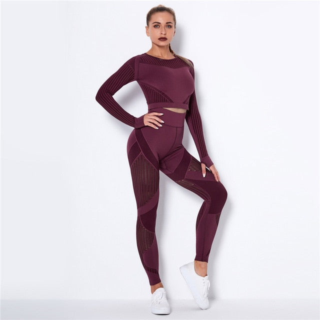 Yoga Set Sport Outfits Women Gym suit - LiveTrendsX