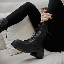 Load image into Gallery viewer, Women ankle boots cowhide upper shoes autumn and winter ladies boots long boots Elastic boots short boots snow boots - LiveTrendsX