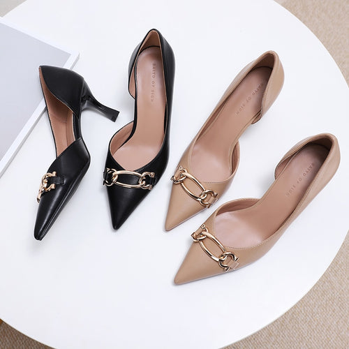 New Arrival 2021 Spring Women High Heels Shoes - LiveTrendsX