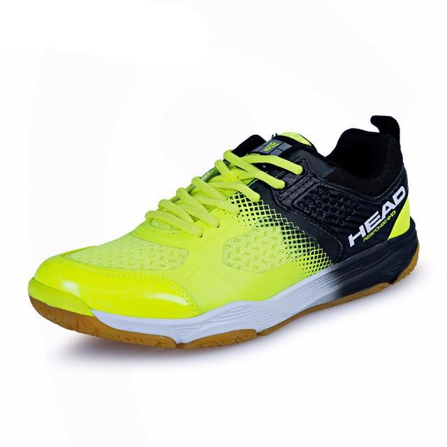 Light Breathable Badminton Shoes for Men Lace-up Sport Shoes Men's Training Athletic Shoe Anti-Slippery Tennis Sneakers - LiveTrendsX