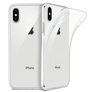 "For iPhone X Case, WEFOR Slim Clear Soft TPU Cover Support Wireless Charging for Apple 5.8"" iPhone X /iPhone 10 (2017 Release) - LiveTrendsX"