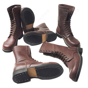 82 101 Airborne Paratroopers Boots shoes Leather High Quality - LiveTrendsX