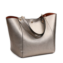 Load image into Gallery viewer, Luxury brand Big Size Vintage PU Tote Handbag Women's Casual Large Capacity Shoulder Bag Girl Retro Travel Bolsa 12 colors - LiveTrendsX