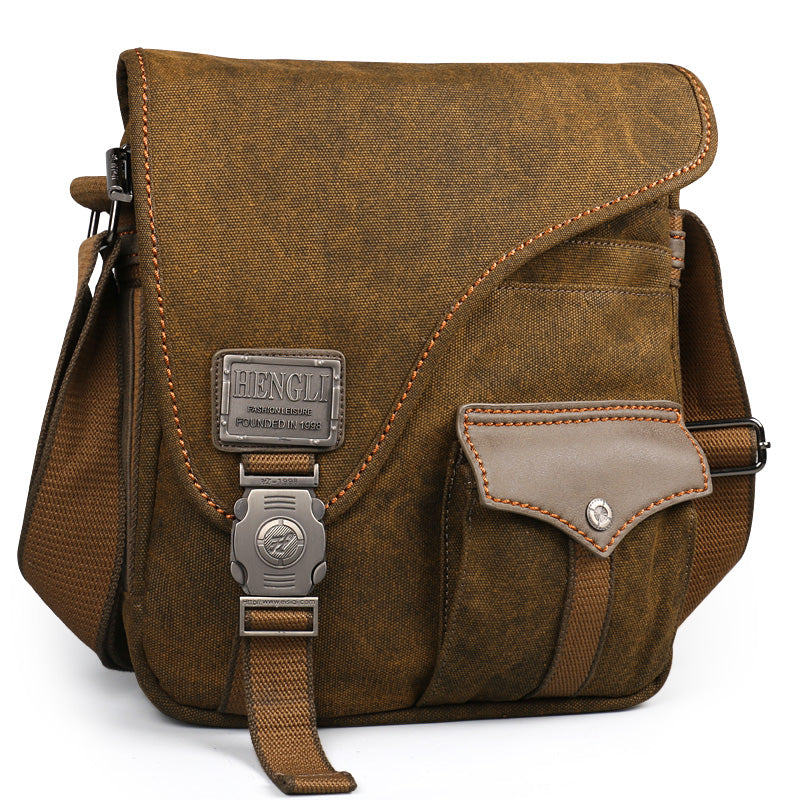 men Canvas bags New Multifunction Crossbody bag Vintage handbags Travel Shoulder Messenger Bags Leisure Package - LiveTrendsX
