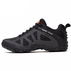 Men Hiking Shoes Women Mesh Air Breathable Trekking Boots Trend Black Hunting Tactical Climbing Sports Outdoor Walking Sneakers - LiveTrendsX