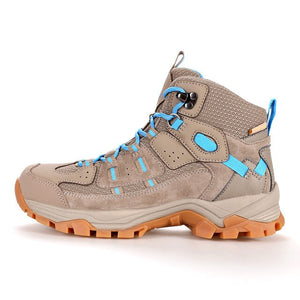 Professional Outdoor Hiking Shoes Genuine Leather Trekking Mountain Sneakers Waterproof Camping Men Shoes Big Size - LiveTrendsX