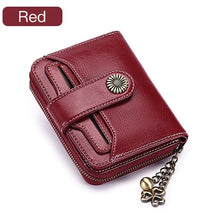 Load image into Gallery viewer, Trend Wallet Female Women Wallet Short Wallet Quality Coin Purse Women Button Purse Quality Flower Hardware 5185H-75 - LiveTrendsX