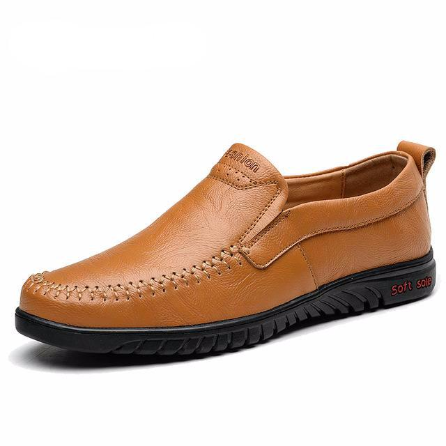 Genuine leather Comfortable Men Casual Shoes Footwear - LiveTrendsX