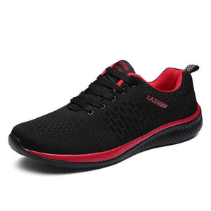 New Mesh Men Casual Shoes Lac-up  Lightweight Comfortable Breathable - LiveTrendsX
