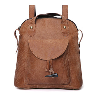 European American style Genuine Leather shoulder bag Vintage fashion lady backpack Multifunctional female large backpacks - LiveTrendsX