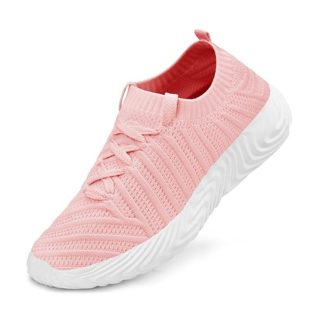 New Men & Women Breathable Running Shoes Outdoor Jogging Walking Lightweight Shoes Comfortable Sports Sneakers - LiveTrendsX