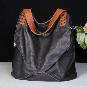 New Arrival Bags 100% Genuine Leather Handbags Large Capacity Hot Design Women Bags Multifunction Shoulder Bag - LiveTrendsX