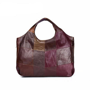Cobbler Legend 2019 New High Quality Women's Handbags Multi Colors Genuine Cow Leather Tote Lady Casual Big Shoulder Bags - LiveTrendsX