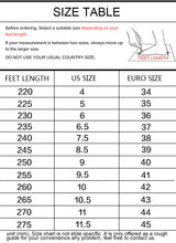 Load image into Gallery viewer, Plus size Women Platform Street Sneakers 2020 Spring Breathable Women's Chunky Sneakers Lady Trainers Footwear Black - LiveTrendsX