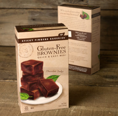 NEW PRODUCT ALERT: Gluten-Free Brownie Mix
