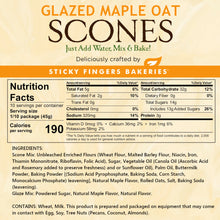 Load image into Gallery viewer, Maple Oat Scone Mix with Maple Glaze