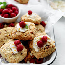 Load image into Gallery viewer, Raspberry White Chocolate Scone Mix