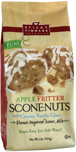 Apple Fritter Scone-Nuts Mix