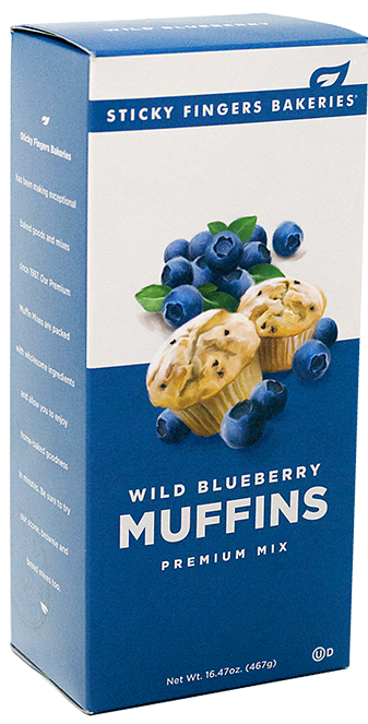 Wild Blueberry Muffin Mix
