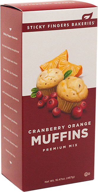 Cranberry Orange Muffin Mix - Limited Stock