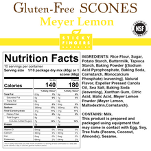 Load image into Gallery viewer, Meyer Lemon Gluten Free Scone Mix