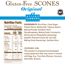 Load image into Gallery viewer, Original Gluten Free Scone Mix