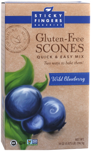 Wild Blueberry Gluten Free Scone Mix