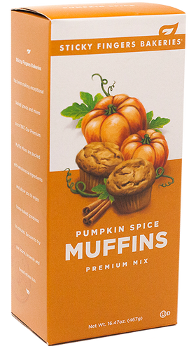 Pumpkin Spice Muffin Mix