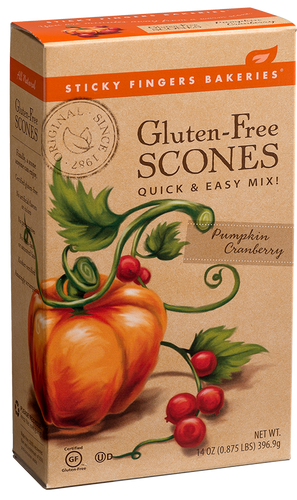 Pumpkin Cranberry Gluten Free Scone Mix